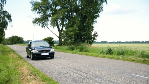 Thumbnail for Women On Roadtrip Stopping In Countryside