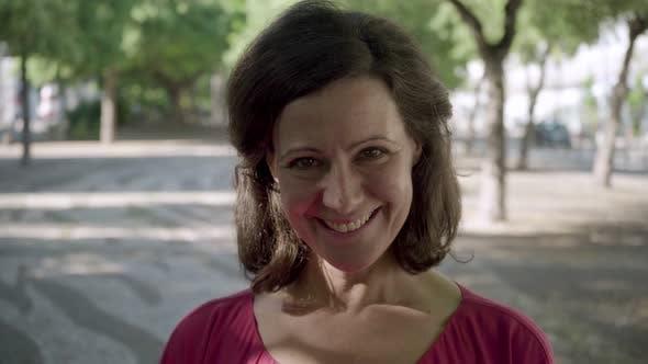 Thumbnail for Beautiful Mature Woman Smiling on Camera