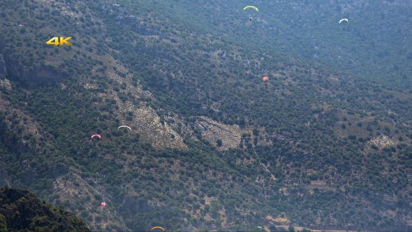 Paragliding Festival Massen