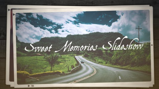 Thumbnail for Sweet Memories Slideshow