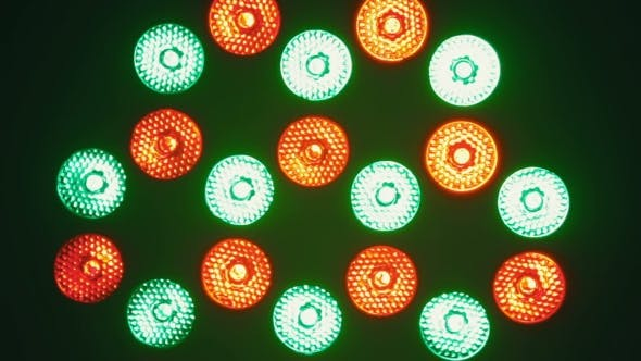 Thumbnail for Bright Flood Lights Flashing