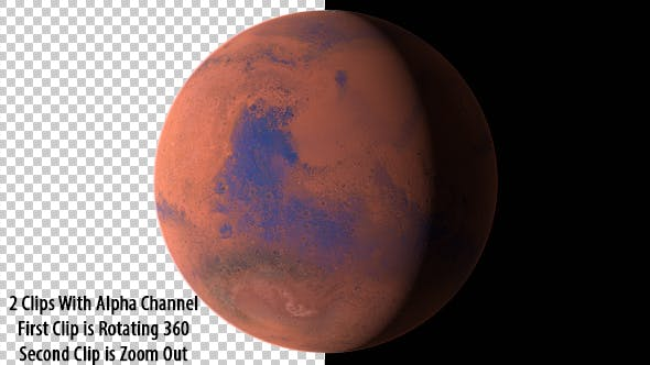 Cover Image for Planet Mars - The Red Planet