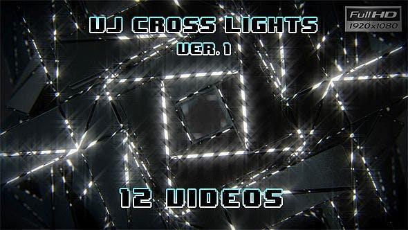 Thumbnail for VJ Loops Cross Lights Ver.1 - 12 Pack