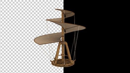 Leonardo Da Vinci Hubschrauber