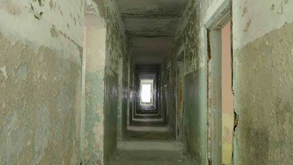 Cover Image for Corridor in the Abandoned Hospital