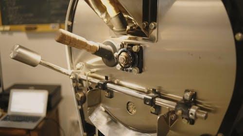 Professional Coffee Roasting Process In Artisan Lab
