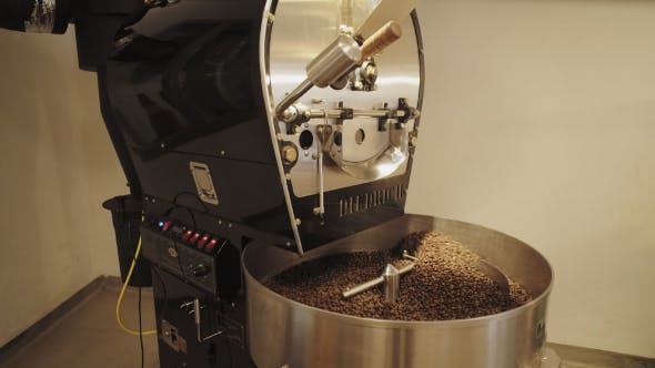 Thumbnail for Professional Coffee Roasting Process In Artisan Lab