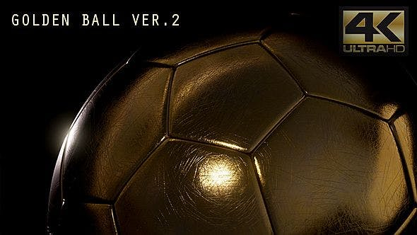 Thumbnail for Golden Soccer Ball Ver. 2