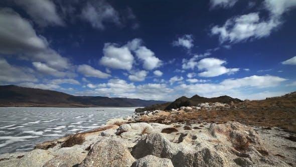 Thumbnail for Rocks And Freeze Ice Of The Baikal Lake.