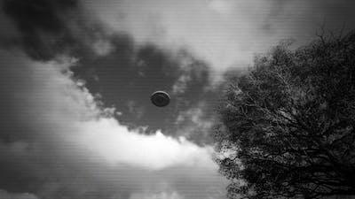 UFO Flying