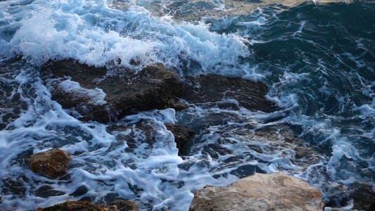 Thumbnail for Sea Waves and Rocks 7