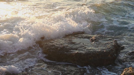 Thumbnail for Sea Waves and Rocks 9