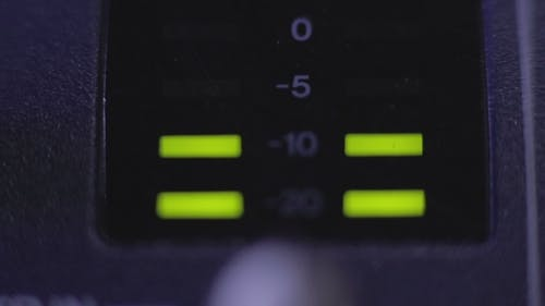 Light-emitting Diode On Mixer Console