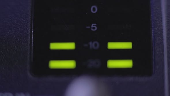 Thumbnail for Light-emitting Diode On Mixer Console