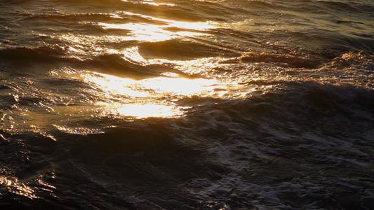 Thumbnail for The Sea Waves in Sunrise