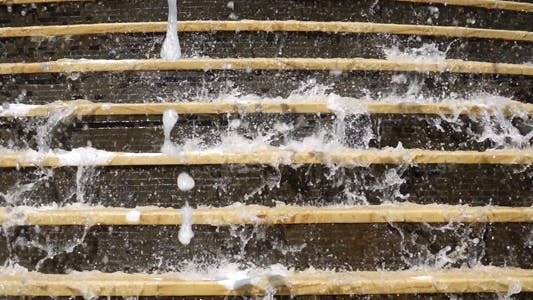 Thumbnail for Fountain Waterfall on Stairs