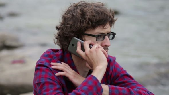 A Tourist With a Phone