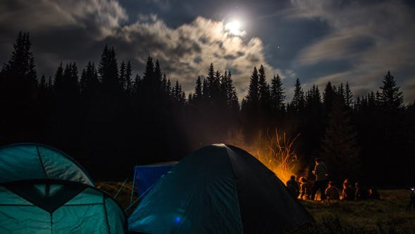 Thumbnail for Night Camping in the Mountains