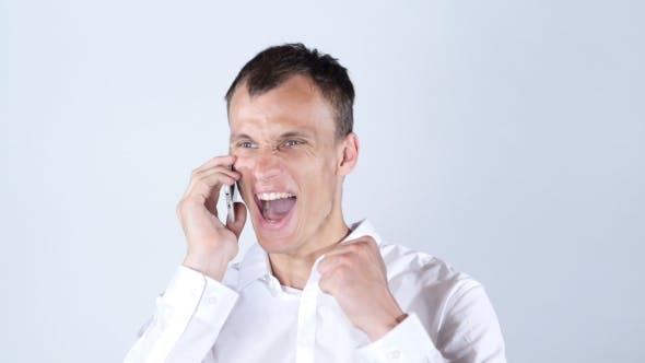 Thumbnail for Businessman Phone Talk, Success, Achievement