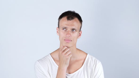 Thumbnail for Thoughtful Man , Thinking