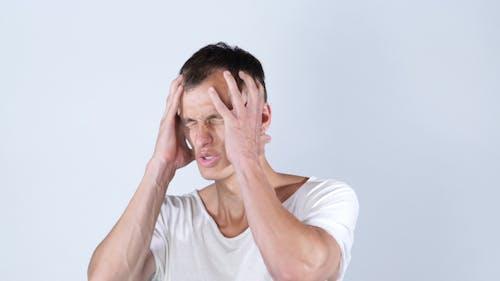 Business Loss, Worried Man After Failure