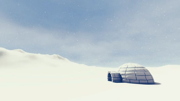 Thumbnail for Igloo In Snowstorm - 2