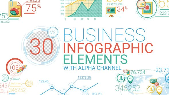 Thumbnail for Business Infographic Elements