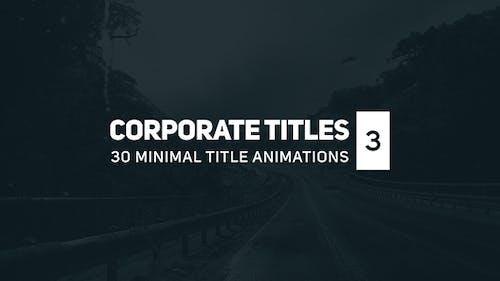 Corporate Titles 3