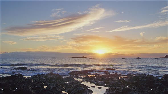 Thumbnail for Ocean Sunset, Tenerife
