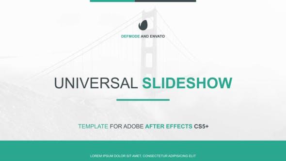 Thumbnail for Universal Slideshow Presentation