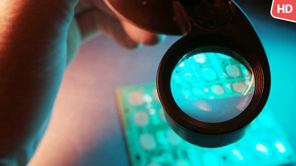 Thumbnail for Using A Loupe For Testing 0158