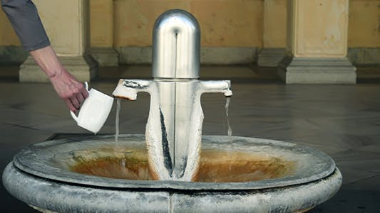 Curative Mineral Water Source