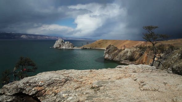 Thumbnail for Lake Baikal. Cape Burkhan