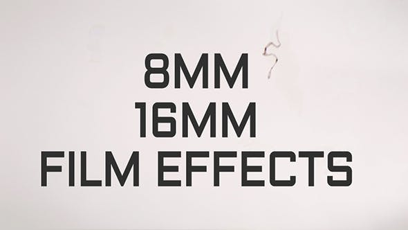 Thumbnail for 8MM - 16MM Film Effects