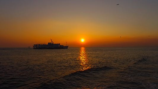 Thumbnail for Sunset and Seagulls- Istanbul