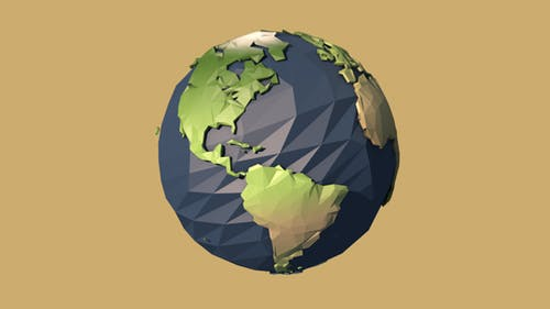 Earth - Low Poly