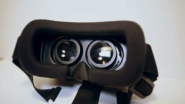 Thumbnail for Camera Moves Slow Around Virtual Reality Glasses