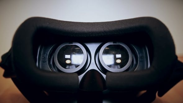 Thumbnail for Virtual Reality Glasses,vr Lie On The Table