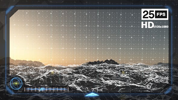 Digital Terrain & HUD