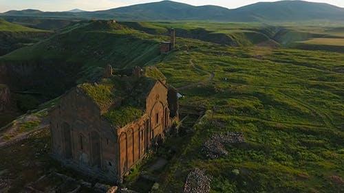 Armenian-Turkish border and Ani Ruins