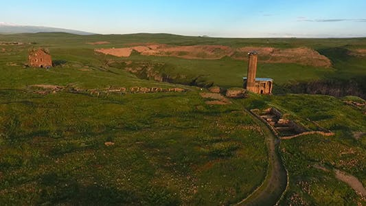 Ruins of the Medieval Armenian- Turkey