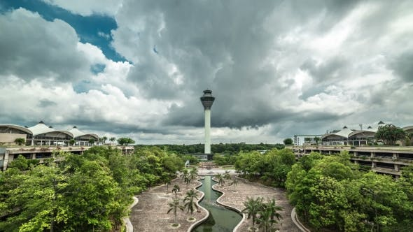 Cover Image for Dispatching Tower In The Kuala Lumpur International Airport KLIA, Malaysia