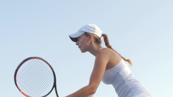 Thumbnail for Serve With Professional Tennis Player