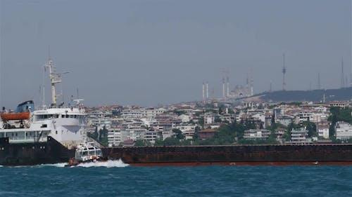 Ship In Bosporus.