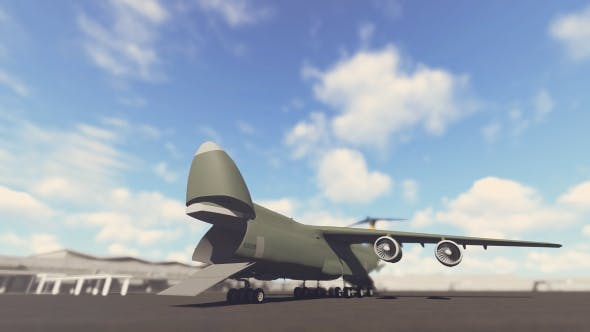Cover Image for Military Cargo Airplane