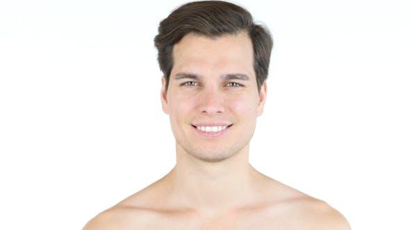 Thumbnail for Smiling Naked Man
