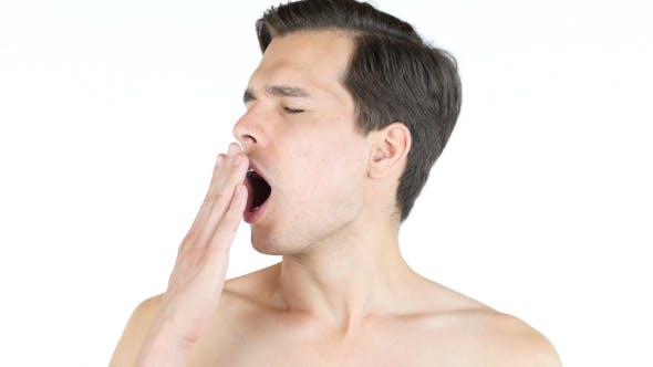 Thumbnail for Yawning Naked Man
