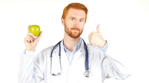 Thumbnail for Doctor Thumbs Up, Apple is Best Food