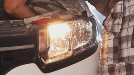Thumbnail for Car Signal Light Repair