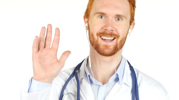 Thumbnail for Online Help, Video Chat by Doctor, conference